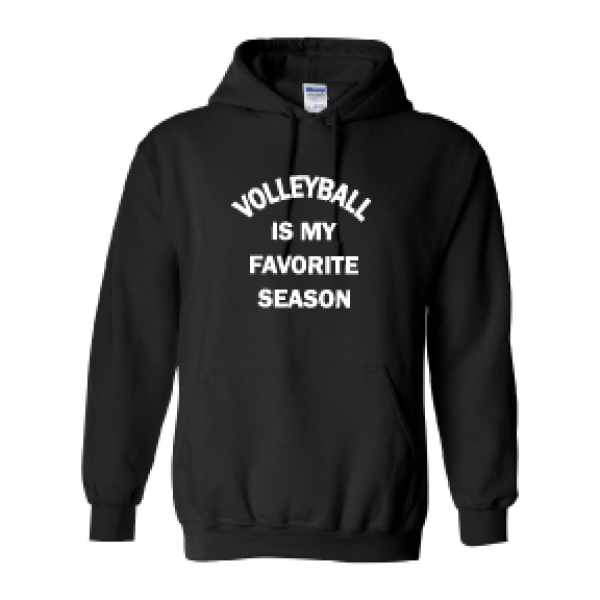 HOODIE VOLLEYBALL FAVORITE SEASON