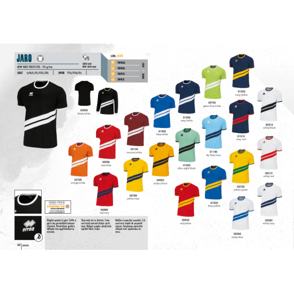 ERREA JARO KIT ( T-SHIRT + SHORT )