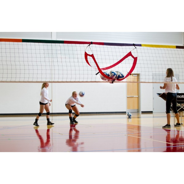 POP-UP VOLLEYBALL CATCHER